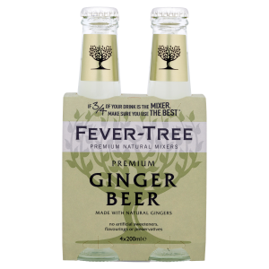 Fever-Tree Ginger Beer EW Glas 4er-Pack 20cl