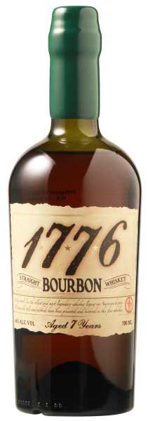 James E. Pepper 1776 Straight Bourbon Whiskey 7 J. 46% 70cl
