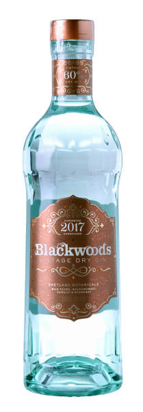 Blackwood's Vintage Dry Gin Limited Edition 60% 70cl
