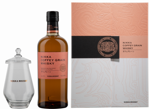 Nikka Coffey Grain Whisky mit Nosing Glas 45% 70cl