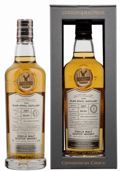 Blair Athol Single Malt Gordon & Macphail Connoisseurs Choice 1997 56.8% 70cl