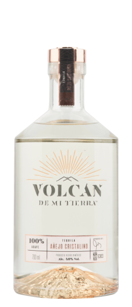 Volcan Tequila Anejo Cristalino 40% 70cl