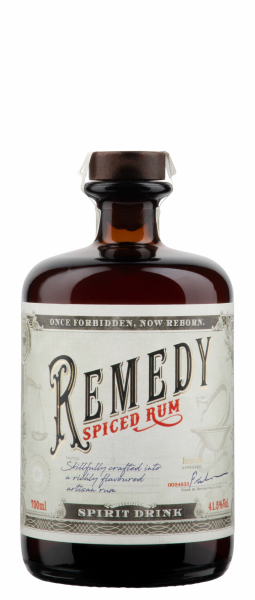 Remedy Spiced Rum 41.5% 70cl