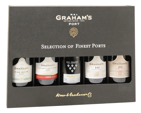Graham's Selection of Finest Ports 5 x 20cl 19.8% 100cl
