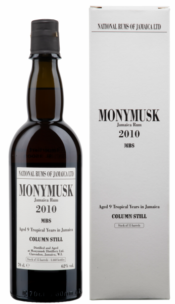 Habitation Velier Monymusk MBS Pure Single Rum 2010 62% 70cl