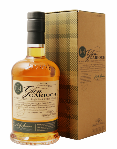 Glen Garioch Single Malt 12 J. 48% 70cl