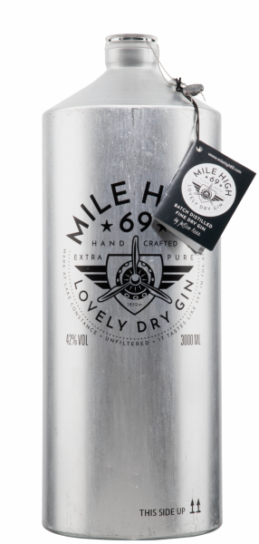 Mile High 69 Dry Gin 42% 300cl