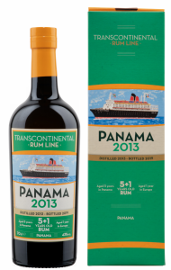 Transcontinental Rum Line Panama 5+1 2013 43% 70cl