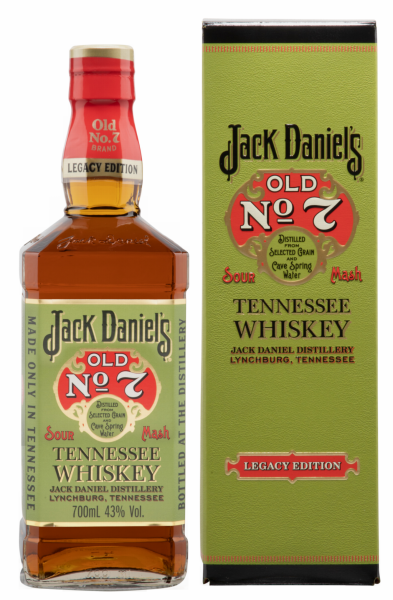 Jack Daniel's Legacy Edition 1 Tennesee Whiskey 43% 70cl