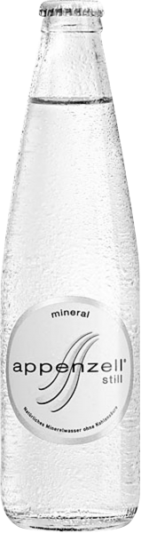 Appenzell Mineral still MW Glas 33cl