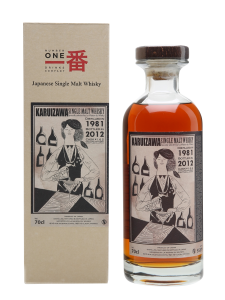 Karuizawa Cocktail Serie Single Malt 1981 30 J. 55.8% 70cl