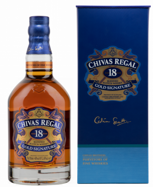 Chivas Regal Blended Scotch Whisky 18 J. 40% 70cl