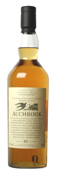 Auchroisk Flora & Fauna Single Malt 10 J. 43% 70cl