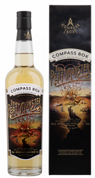 Compass Box Peat Monster Whisky 46% 70cl
