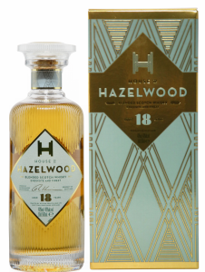 Hazelwood Blended Scotch Whisky 18 J. 40% 50cl