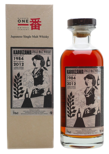 Karuizawa Cocktail Serie Single Malt 1984 28 J. 59.3% 70cl