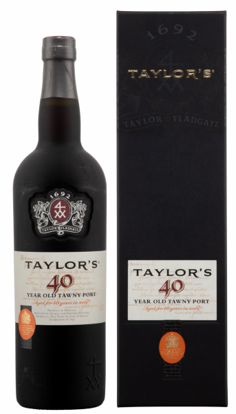 Taylor's Tawny Port 40 years 40 J. 20% 75cl