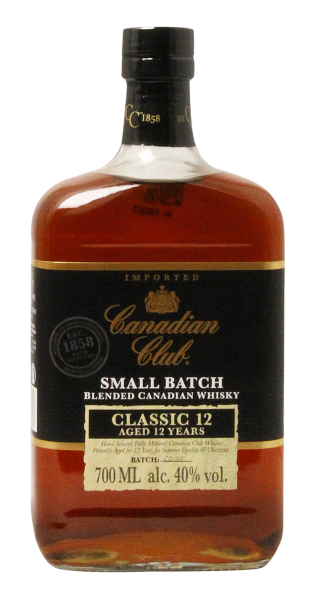 Canadian Club Classic Canadian Whisky 12 J. 40% 70cl