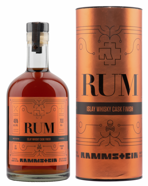 Rammstein Rum Limited Edition Islay Whisky Cask Finish 46% 70cl