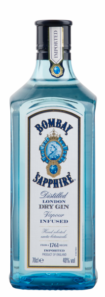 Bombay Sapphire London Dry Gin 40% 70cl