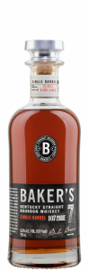 Jim Beam Baker's Straight Bourbon Cask Str. 7 J. 53.5% 75cl
