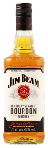 Jim Beam White Straight Bourbon 40% 70cl