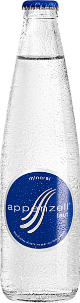 Appenzell Mineral laut MW Glas 33cl