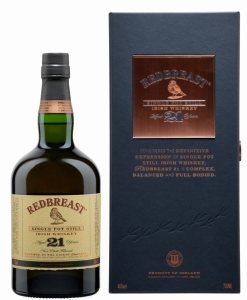 Redbreast Irish Pot Still Whiskey 21 J. 46% 70cl