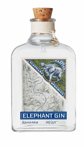 Elephant Dry Gin Strength 57% 50cl