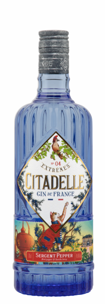 Citadelle Gin Extremes N°4 Sergeant Pepper 45.4% 70cl