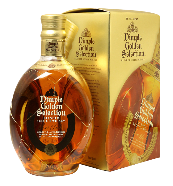 Dimple Golden Selection Blended Scotch Whisky 40% 70cl
