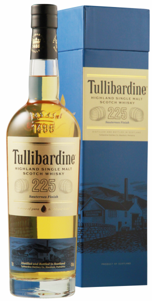 Tullibardine 225 Sauternes Wood Finish 43% 70cl