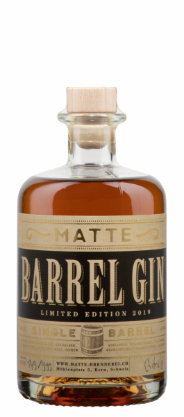 Matte Barrel Gin Limited Edition 2019 47% 50cl