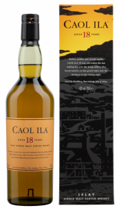 Caol Ila Single Malt 18 J. 43% 70cl