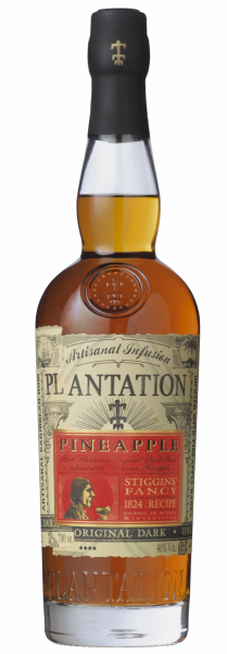 "Plantation Rum Original Dark Pineapple ""Stiggins' Fancy"" 40% 70cl"