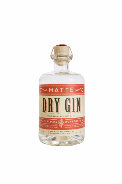 Matte Dry Gin 42% 20cl