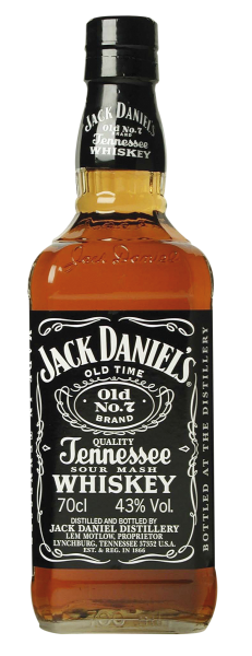 Jack Daniel's No 7 Tennesee Whiskey 35cl 40% 35cl