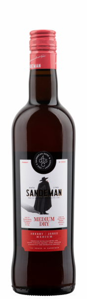 Sandeman Sherry Medium Dry 15% 75cl