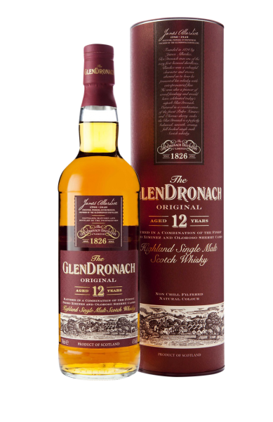 Glendronach Original Sherry Cask Single Malt 12 J. 43% 70cl