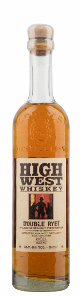 High West Distillery Straight Rye Whiskey Double Rye 46% 70cl
