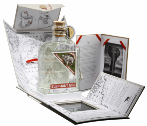 Elephant London Dry Gin in Geschenk Box 45% 50cl