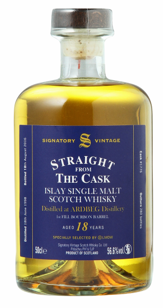 Single Malt Signatory Vintage Cask Strength