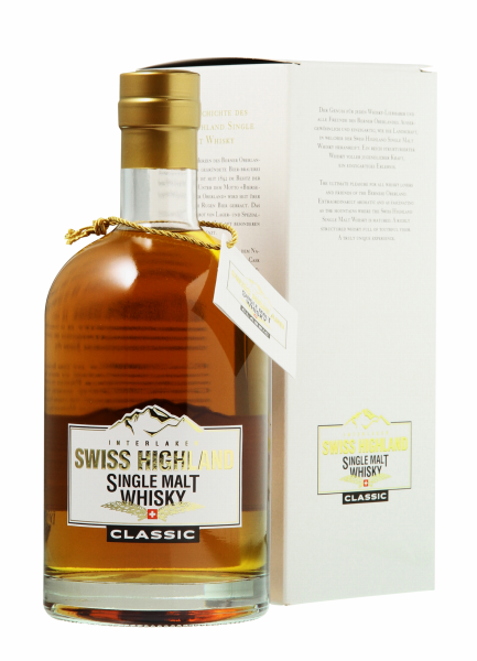 Rugenbräu Swiss Highland Single Malt Classic 46% 70cl