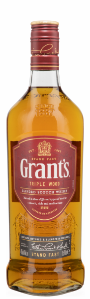 Grant's Triple Wood Scotch Whisky 40% 70cl
