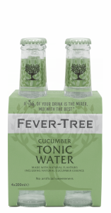 Fever-Tree Cucumber Tonic Water EW Glas 4er-Pack 20cl
