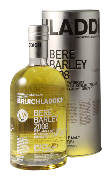 Bruichladdich Bere Barley Single Malt 2008 50% 70cl