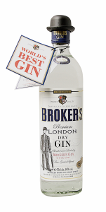 Broker's London Dry Gin 40% 70cl