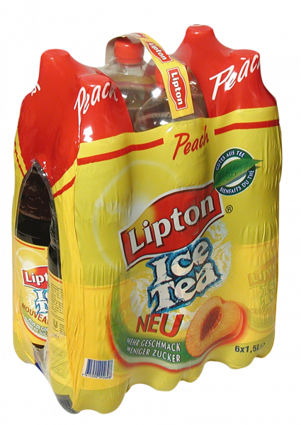 Ice Tea Lipton Peach EW PET 6-er Pack