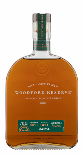 Woodford Reserve Rye Distiller's Select Straight 45.2% 70cl