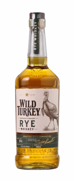 Wild Turkey Straight Rye 40.5% 70cl